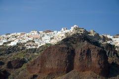 Oia, Santorini, Grecia Foto de archivo libre de regalías