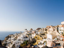 Oia, Santorini, Grecia Imagen de archivo