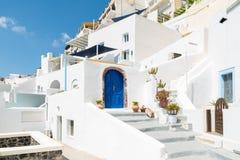 OIA in Santorini Grecia Immagine Stock Libera da Diritti