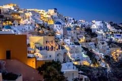 Oia Santorini Greece Imagens de Stock Royalty Free