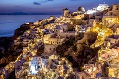 Oia Santorini Greece Imagens de Stock