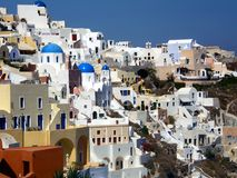 Oia, Santorini Greece Royalty Free Stock Photography
