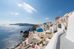 Oia Santorini Greece Stock Photo