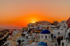 Oia Santorini Greece Fotos de Stock Royalty Free