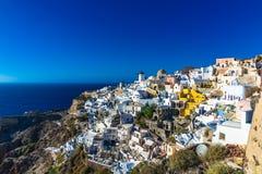 Oia santorini Greece Stock Photography
