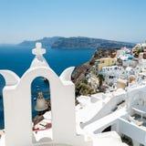 Oia in Santorini Greece Royalty Free Stock Photography