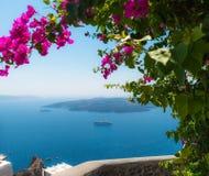 Oia in Santorini Greece Stock Photo