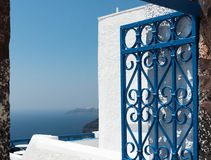 Oia in Santorini Greece Stock Images