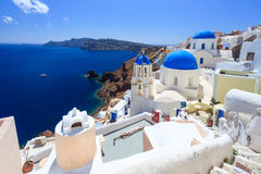 Oia Santorini Greece Europe Stock Images