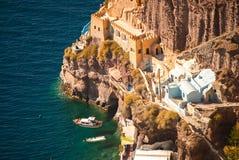 Oia Santorini Stock Photo