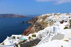 Oia, Santorini, Greece Stock Photos