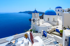 Oia, Santorini, Greece Royalty Free Stock Photography