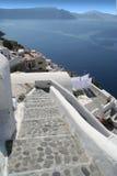 Oia Santorini Grekland Arkivfoton