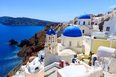 Oia Santorini Grekland Europa arkivfoto