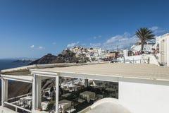 Oia Santorini Griekenland Royalty-vrije Stock Foto