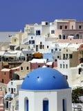 Oia. Santorini, Griekenland Stock Fotografie