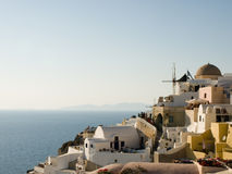 Oia, Santorini, Griekenland Stock Afbeelding