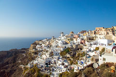Oia on Santorini island Royalty Free Stock Images