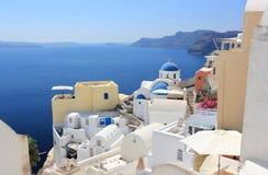 Oia on Santorini Island. The Cyclades, Greece. royalty free stock photo