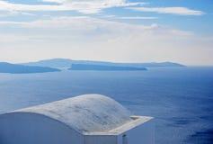 Oia Santorini island Cyclades. Greece Stock Image