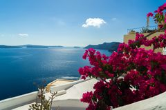 Oia Santorini island Cyclades. Greece Stock Photography