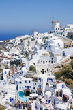 Oia, Santorini island. Royalty Free Stock Images