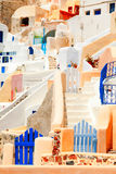Oia, Santorini. Photgraphed at daylight Royalty Free Stock Image