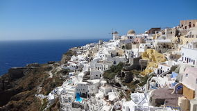 Oia in Santorini. Picture of Oia in Santorini taken on may 2014 royalty free stock photos