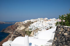 Oia in Santorini Stock Photos