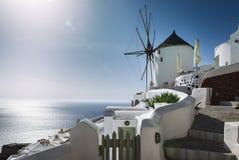Oia Santorini sprit Στοκ φωτογραφία με δικαίωμα ελεύθερης χρήσης