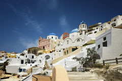 Oia Santorini sprit in Greece Stock Photo