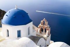 Oia Santorini sprit Stock Image
