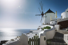 Oia Santorini sprit Royalty Free Stock Photo