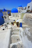 Oia Santorini (Thira) Greece - island white Stock Photography