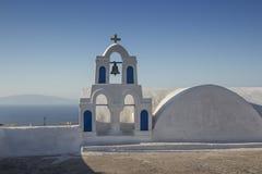 Oia stad (Ia), Santorini - Griekenland Stock Foto's