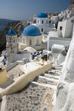 Oia Stairs Royalty Free Stock Photos