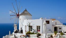 Oia sull'isola di Santorini Immagine Stock Libera da Diritti