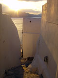 Oia sunset Royalty Free Stock Photos