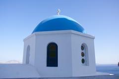 Oia sur l'île de Santorini Photo stock