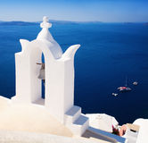 Oia Town, Santorini Island, Greece Stock Photos