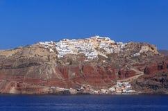 Oia town on Santorini Royalty Free Stock Photo