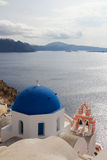 The Oia Town in santorini Stock Images