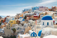 Oia, traditional greek village Royalty Free Stock Photo