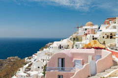 Oia, traditional greek village Royalty Free Stock Photos