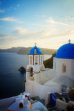 Oia, traditional greek village Royalty Free Stock Photography