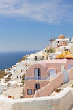 Oia, traditional greek village Stock Images