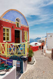 Oia, traditional greek village Royalty Free Stock Images