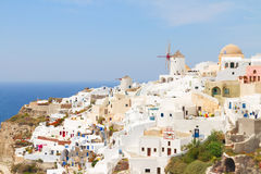 Oia, traditional greek village Stock Photography