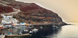 Oia view - Santorini royalty free stock images