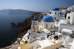 Oia Village Royalty Free Stock Images